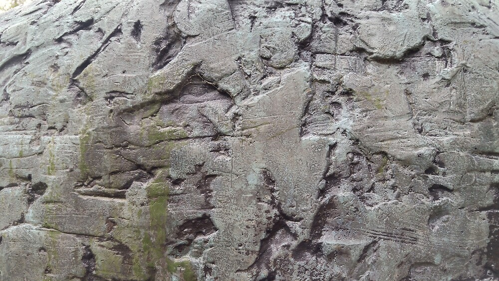 Ivar Sælen bronze bust statue rough surface texture by Travis Peterson