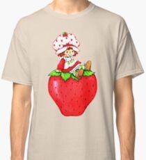 Strawberry Shortcake, strawberry classic 80s cartoon Classic T-Shirt