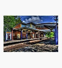 Longbenton Metro Station Photographic Print
