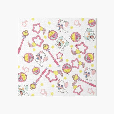 Creamy Mami - texture Art Board Print