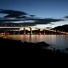 Hobart Nightscape by amykphotography