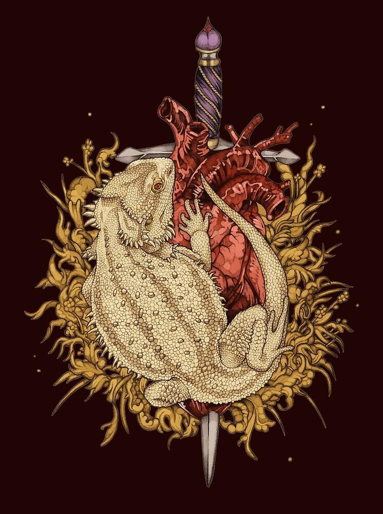 Gilded Dragon by Squishysquid