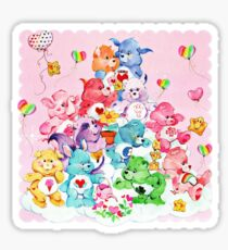 Care Bear, Care Bear Cousins, Retro 80s Cartoon Cute Sticker