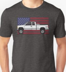 88-98 White USA 4x4 Unisex T-Shirt
