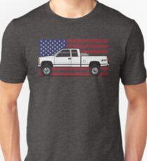 88-98 White USA 4x4 T-Shirt