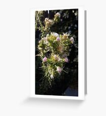 Deathly Beauty Greeting Card