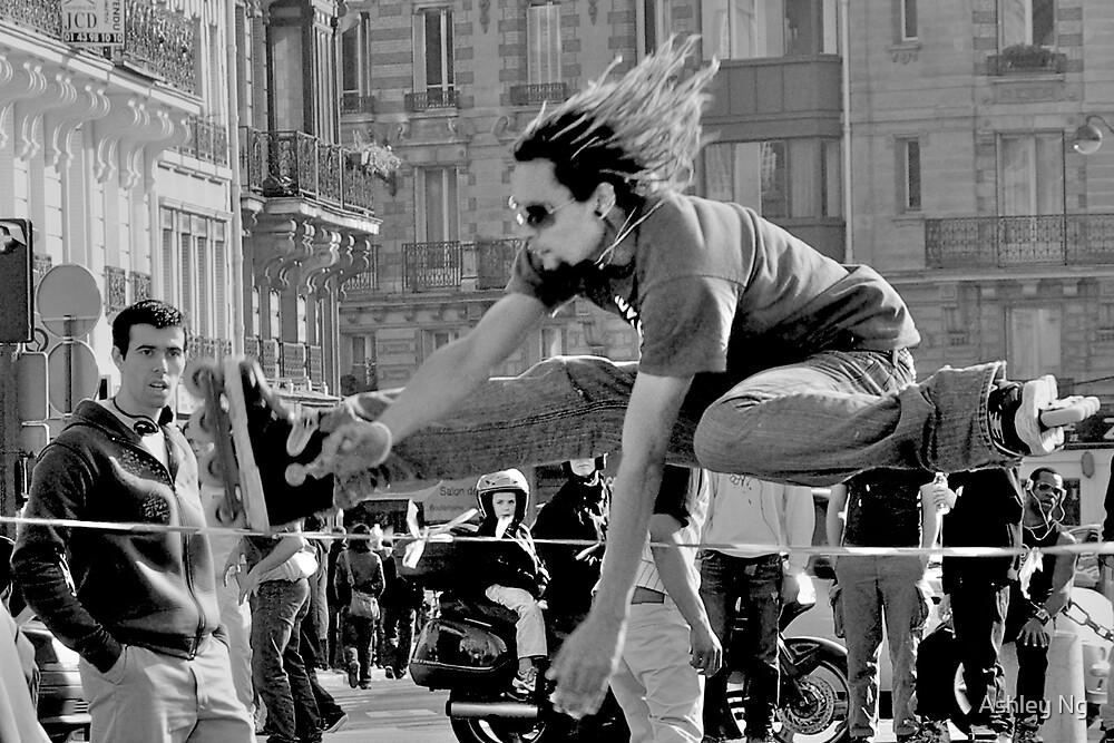 Roller jump by Ashley Ng