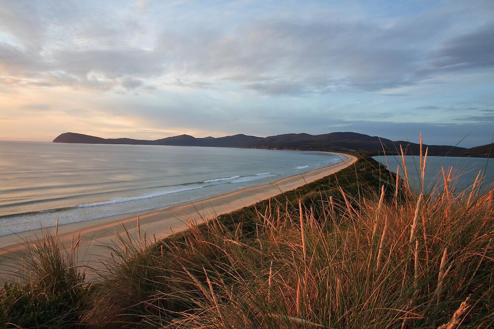 Bruny Island Sunrise, Tasmania by David Jamrozik