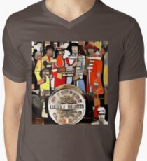 Lonely Hearts Club Band Mens V-Neck T-Shirt