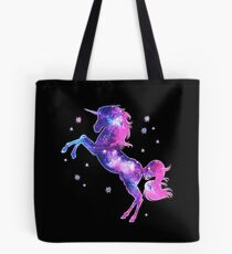 Cosmic Unicorn, Galaxy Style, Space, Universe, Space Tote Bag