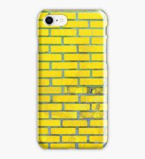 Yellow bricks iPhone Case/Skin