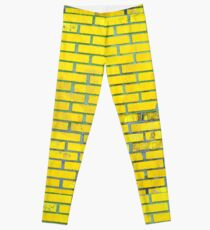 Gelbe Ziegelsteine Leggings