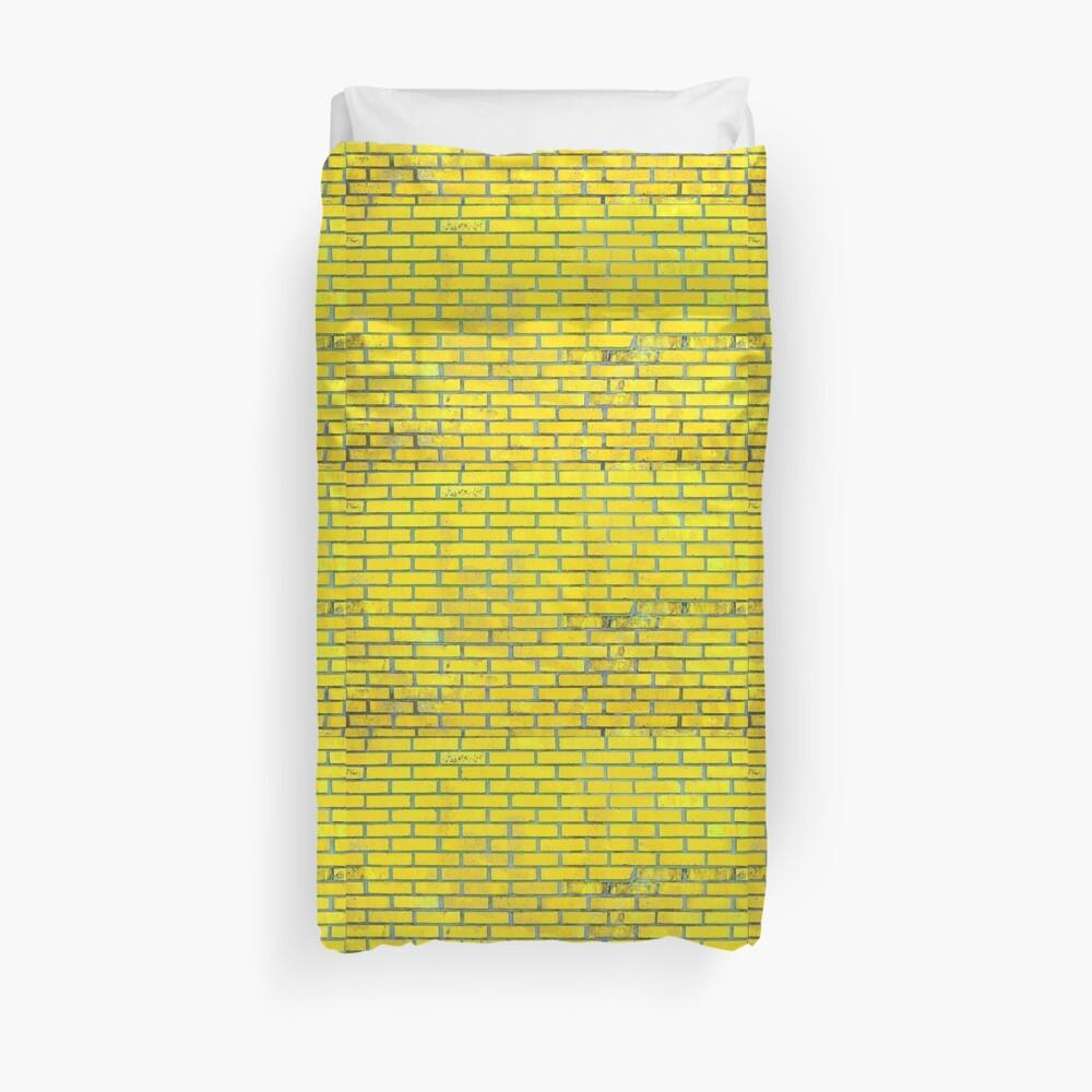 Yellow bricks Duvet Cover