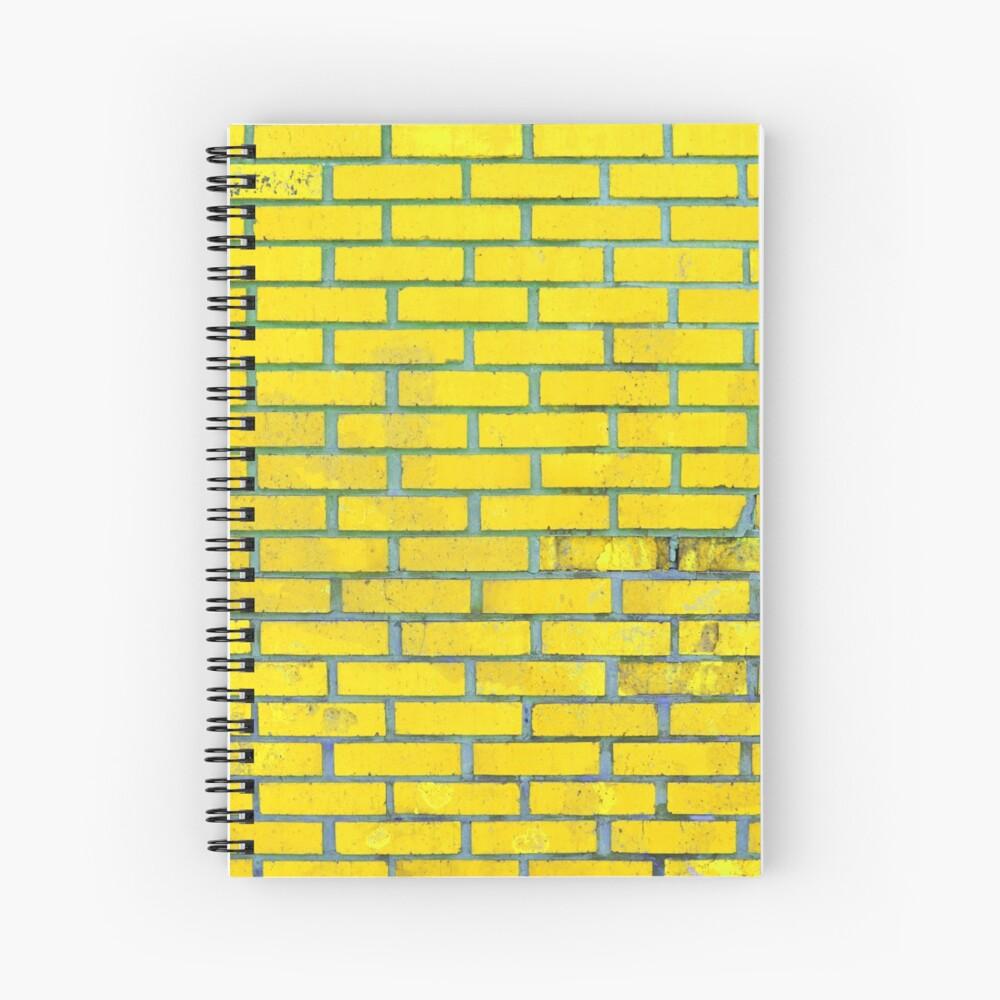 Yellow bricks Spiral Notebook