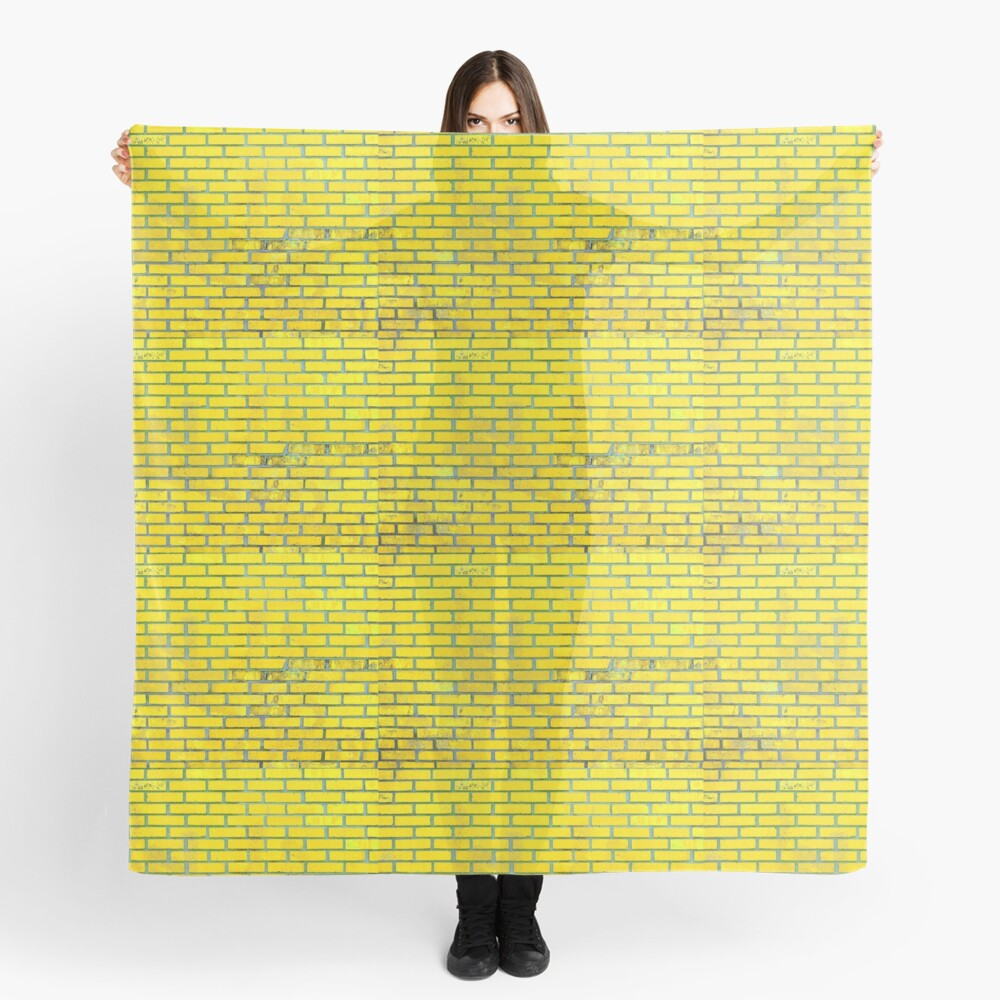 Yellow bricks Scarf