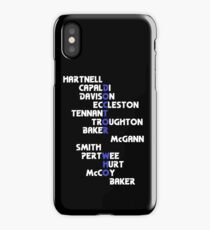 Doctors Who? iPhone Case/Skin