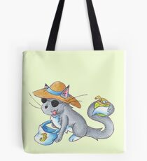 Vacay Cat Tote Bag