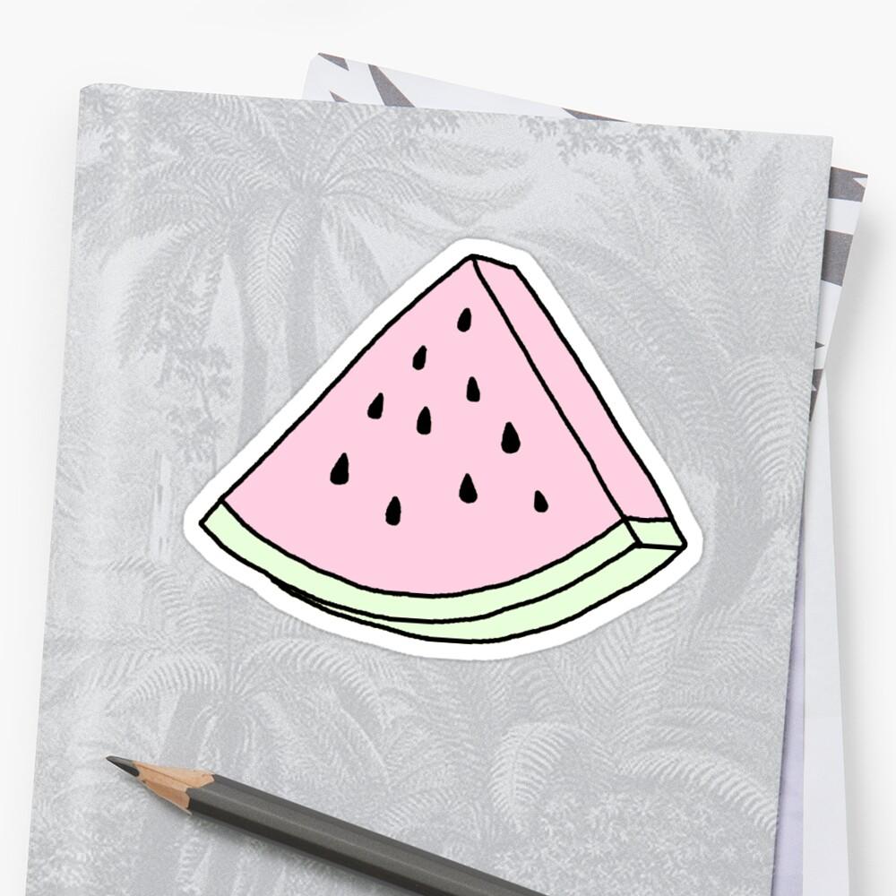 pale watermelon by c. elizabeth