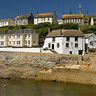Harbourside Buildings, Porthleven by Rod Johnson