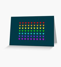 Love Is All Around III Greeting Card