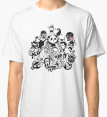 t-shirt funny Various characters Classic T-Shirt