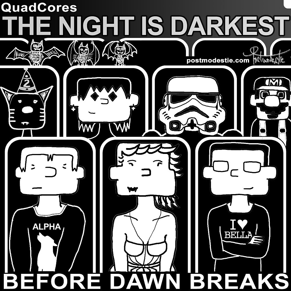 QuadCores - Kids with Gadgets doing Twilight by postmodestie