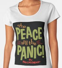 The Peace and the Panic - Neck Deep Women's Premium T-Shirt