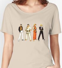 Art of Fighting SNK Women's Relaxed Fit T-Shirt