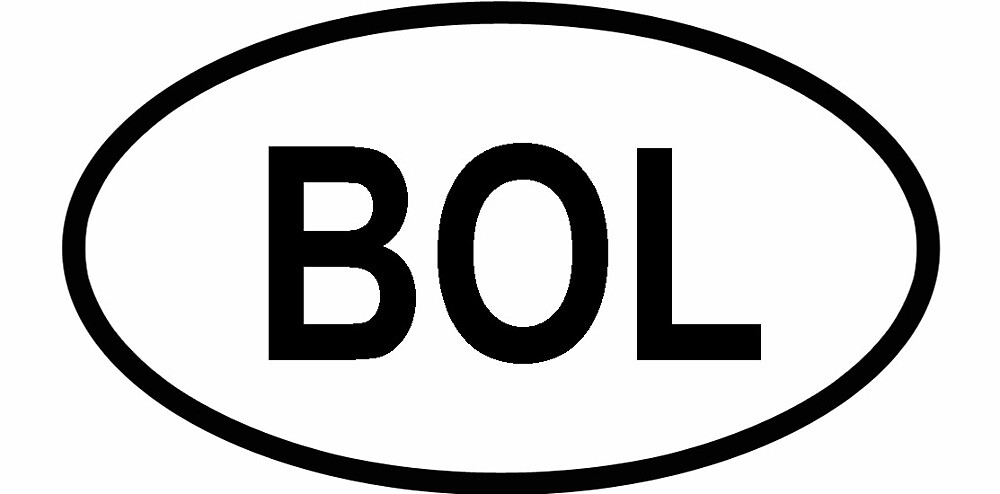 "Bolivia ""BOL"" Country Code by ofmany"