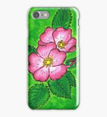 Rose Blossoms by Mary Bottom iPhone Case/Skin