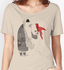 Darwin and red bird Women's Relaxed Fit T-Shirt