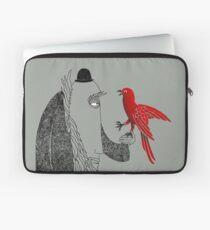 Darwin and red bird Laptop Sleeve