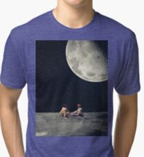 I Gave You The Moon For A Smile Tri-blend T-Shirt