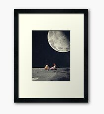 I Gave You The Moon For A Smile Framed Print