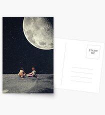 Ich gab dir den Mond für ein Lächeln Postkarten