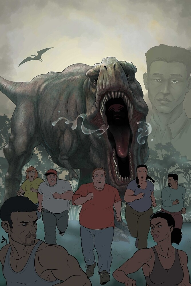 The cover for Escape from Dino Isle  by Supercilious