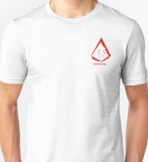 Benny Xiong Art Logo WB Chest Unisex T-Shirt