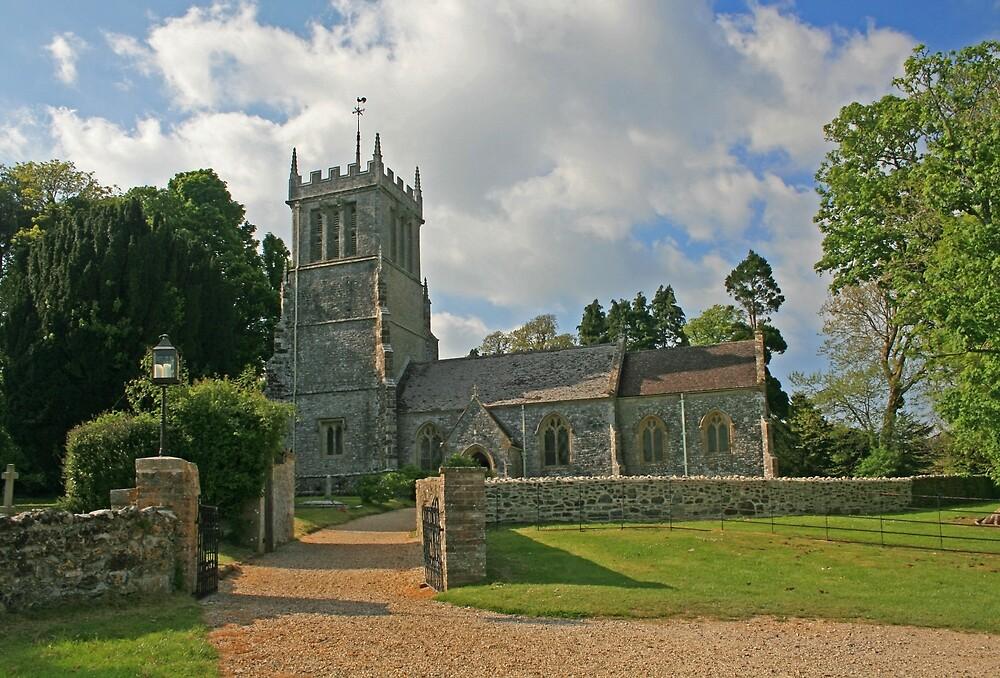 St Andrew's Church, East Lulworth by RedHillDigital