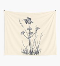 Humble Bee Wall Tapestry