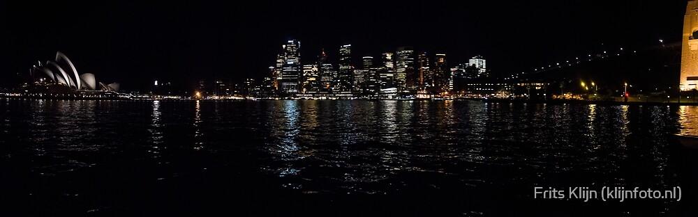 Sydney - Circular Quay by night Panorama by Frits Klijn (klijnfoto.nl)