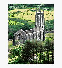 Abandoned Church, Donegal, Ireland Photographic Print