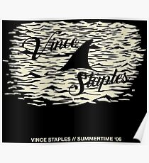 Vince Staples - Shark Fin Poster