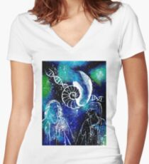 Orphan Black - Cophine spacedust Women's Fitted V-Neck T-Shirt