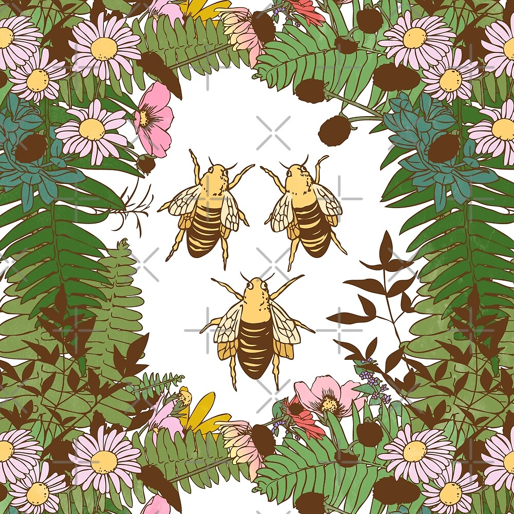 Save The Bees by Feroniae