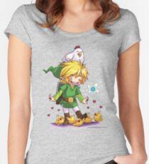 Cucco Fans - Legend of Zelda Women's Fitted Scoop T-Shirt
