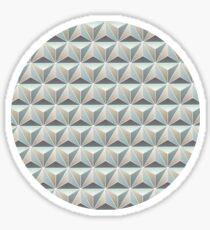 Spaceship Earth Tile Sticker