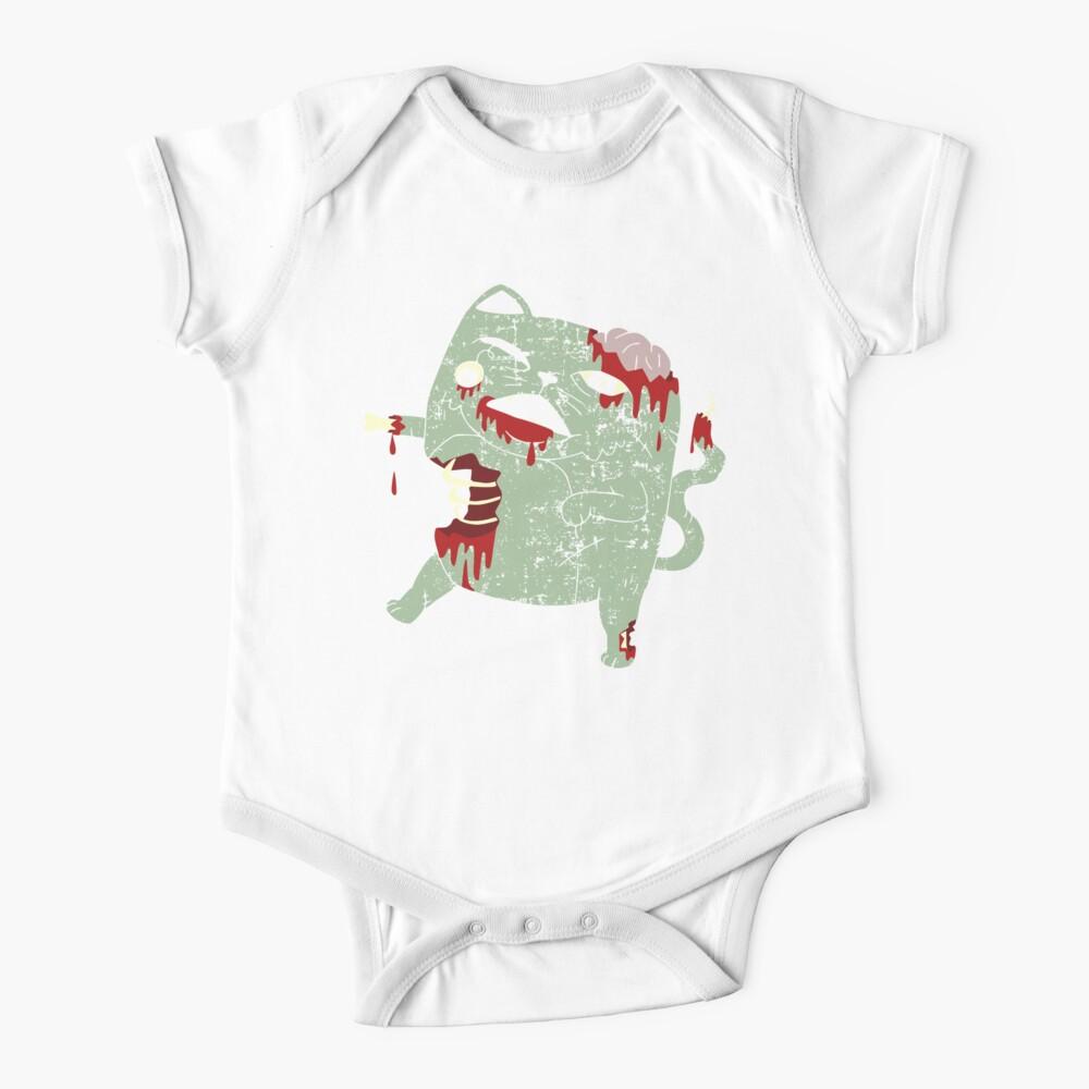 Zombie Cat Baby One-Piece