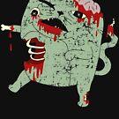 Zombie Cat by obinsun