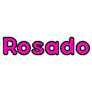 Rosado Bubble Font by alaswell