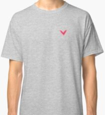 Pretty Pink Heart Print, Beautiful Spring Love Hearts Classic T-Shirt